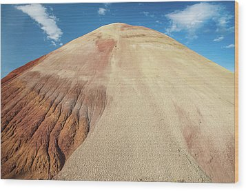 Painted Mound Wood Print by Greg Nyquist