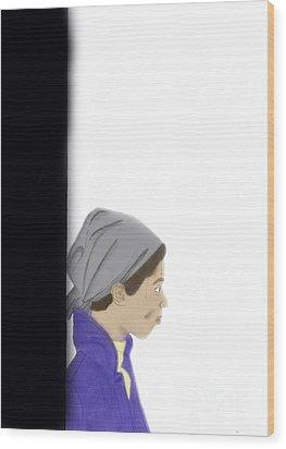 Painters Block Wood Print by Michelle Teague
