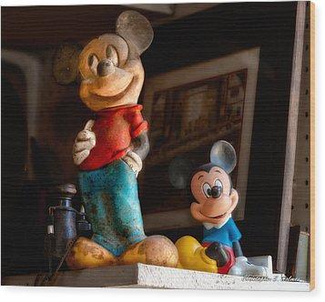 Pair Of Mickies Wood Print by Christopher Holmes