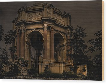 Wood Print featuring the photograph Palace Of Fine Arts - San Francisco by Ryan Photography