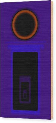 Palladian Violet Wood Print by Charles Stuart
