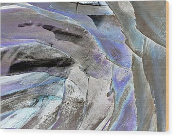 Layered Colors Wood Print