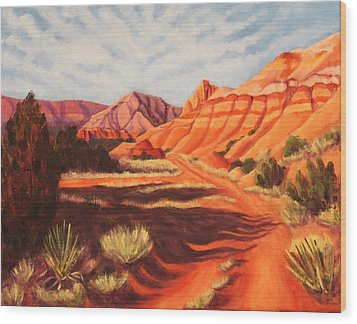 Palo Duro Canyon Wood Print