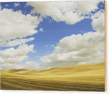 Palouse Valley Wood Print
