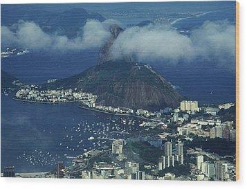 Pan De Azucar - Rio De Janeiro Wood Print