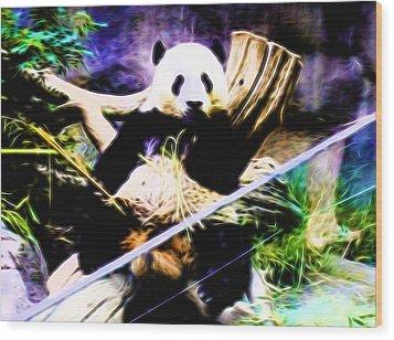 Panda Bear 1 Wood Print