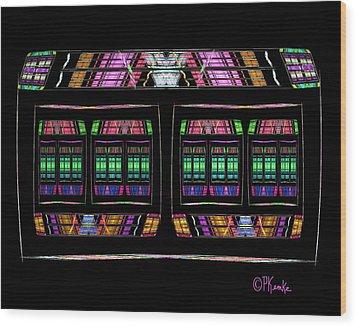 Pandora's Box Wood Print