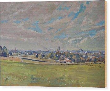 Panorama Maastricht Wood Print by Nop Briex