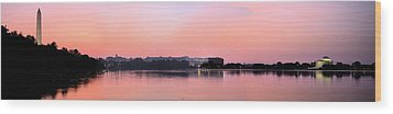 Panoramic Dawn Wood Print by JC Findley