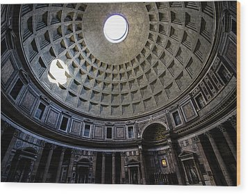 Wood Print featuring the photograph Pantheon by Nicklas Gustafsson