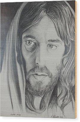 Parable Wood Print by Rick Ahlvers