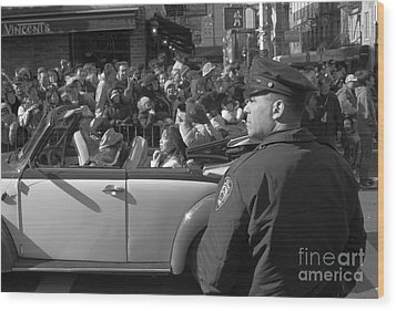 Parade Security Wood Print by Clarence Holmes