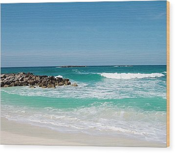 Wood Print featuring the photograph Paradise Island by Gary Wonning