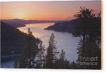 Paradise View Wood Print by Idaho Scenic Images Linda Lantzy