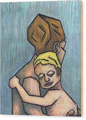 Parental Bond Wood Print by Kamil Swiatek