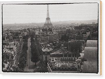Paris 1966 Wood Print by Steve Archbold