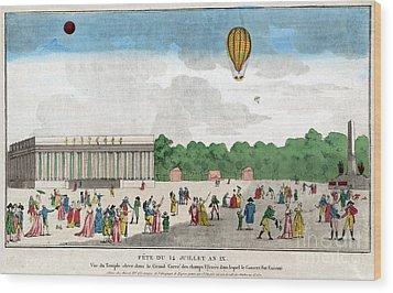 Paris: Bastille Day, C1801 Wood Print by Granger