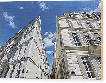 Wood Print featuring the photograph Paris Photography - Quai D-orleans by Melanie Alexandra Price