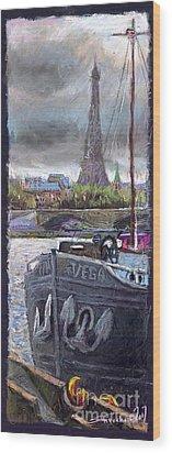 Paris Pont Alexandre IIi Wood Print by Yuriy  Shevchuk