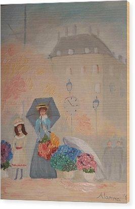 Paris  Yoli By Alanna Wood Print by Alanna Hug-McAnnally