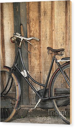Parked Wood Print by Charuhas Images