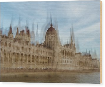 Wood Print featuring the photograph Parliamentary Procedure by Alex Lapidus