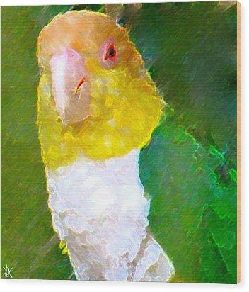 Parrot Grace Wood Print