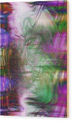 Passage Through Life Wood Print by Linda Sannuti