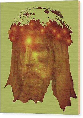 Passion No. 01 Wood Print by Ramon Labusch