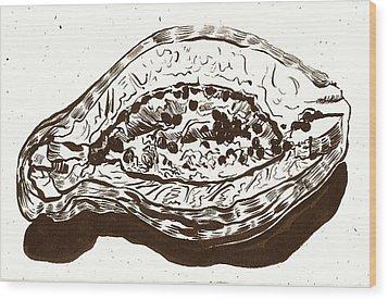 Passionfruit Wood Print by Al Goldfarb