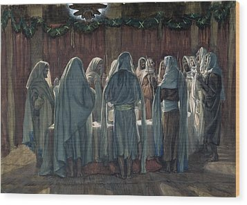 Passover Wood Print by Tissot