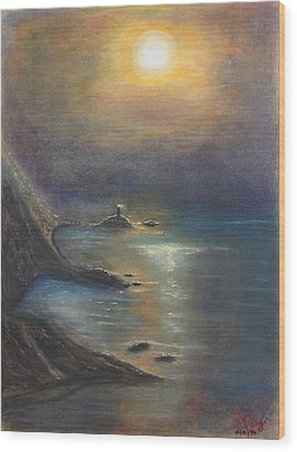 Pastel Msc 002 Wood Print