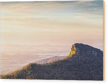Table Rock Mountain - Linville Gorge North Carolina Wood Print