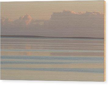 Pastel Sunset Sea Original Wood Print