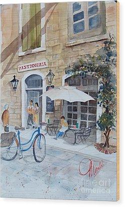 Pasticceria Wood Print