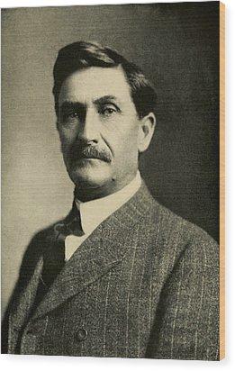 Pat Garrett 1850-1908, Sheriff Wood Print by Everett