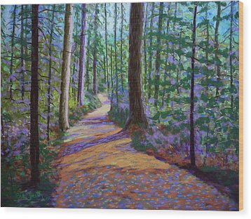 Path To Hubbards Farm Market Wood Print
