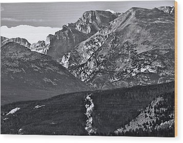 Wood Print featuring the photograph Path To Longs Peak by Dan Sproul