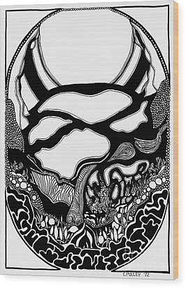 Pathway Two Wood Print by Charles Pulley