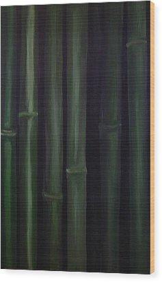 Patience Wood Print by Jean Brewster