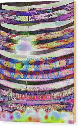 Pattern 255 Joy Wood Print