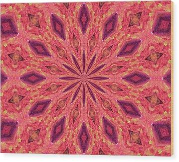 Wood Print featuring the digital art Pattern II by Elizabeth Lock