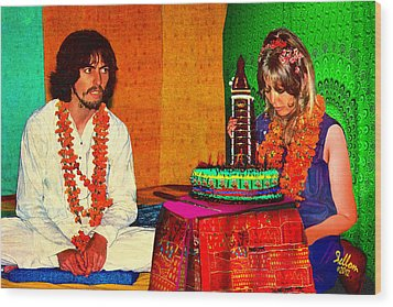 Pattie Boyd 24th Birthday Wood Print by Che Rellom
