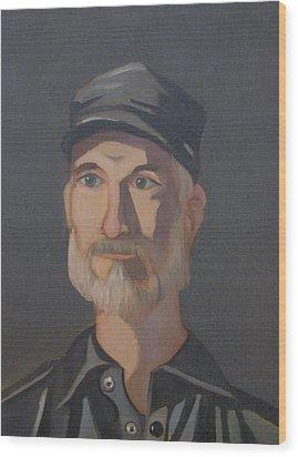 Paul Bright Portrait Wood Print