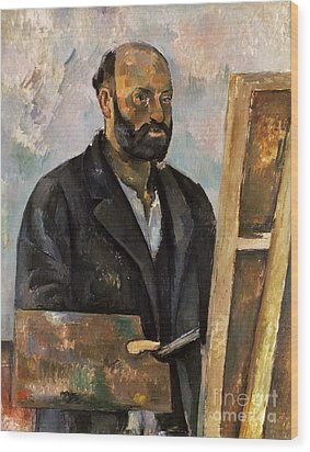 Paul Cezanne (1839-1906) Wood Print by Granger