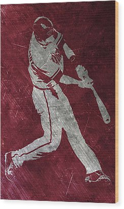 Paul Goldschmidt Arizona Diamondbacks Art Wood Print