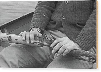 Wood Print featuring the photograph Paul by Laurie Stewart