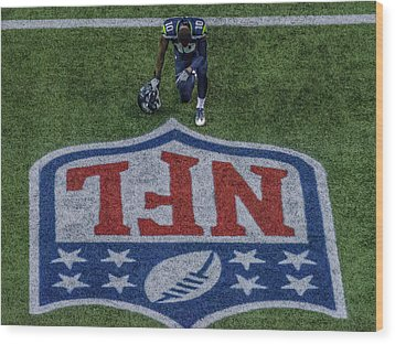 Paul Richarson Nfl Wood Print