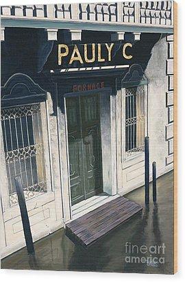 Pauly C. Fornache Wood Print