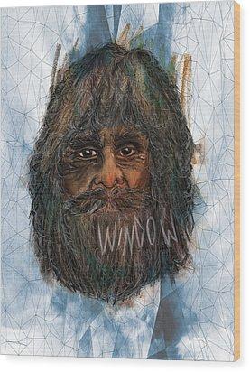 Pavlov's Window Wood Print